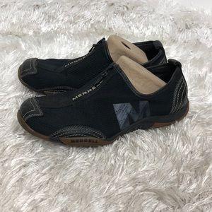 Merrell Black Slide On Sneakers Sz 8.5